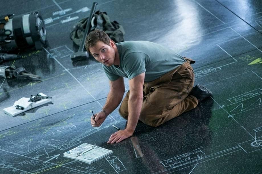 Chris Pratt no filme 'Passageiros'