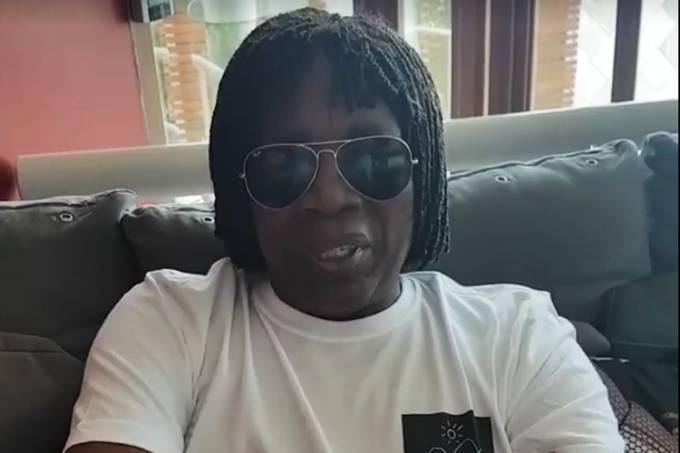 Milton Nascimento posta vídeo em rede social rebatendo internauta que ofendeu Franciele Fernanda, participante do programa 'The Voice Kids', da TV Globo