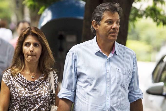Fernando Haddad e Ana Estela Haddad