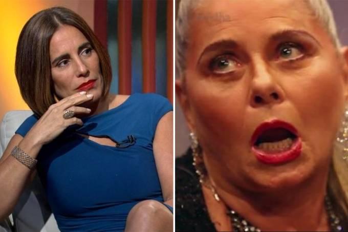 As atrizes Glória Pires e Vera Fischer