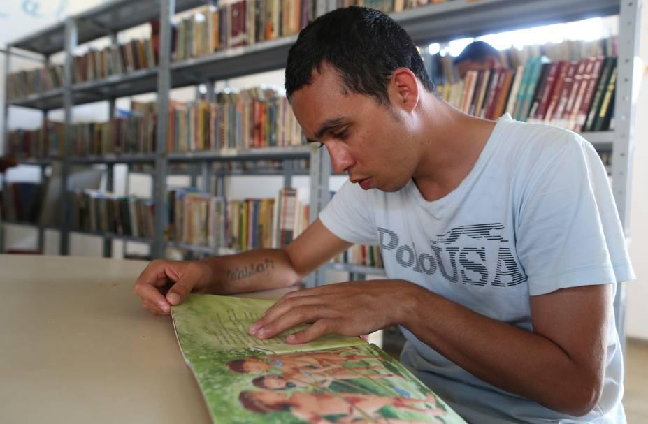 Todos os presos estudam ou fazem cursos - Foto: Sérgio Dutti