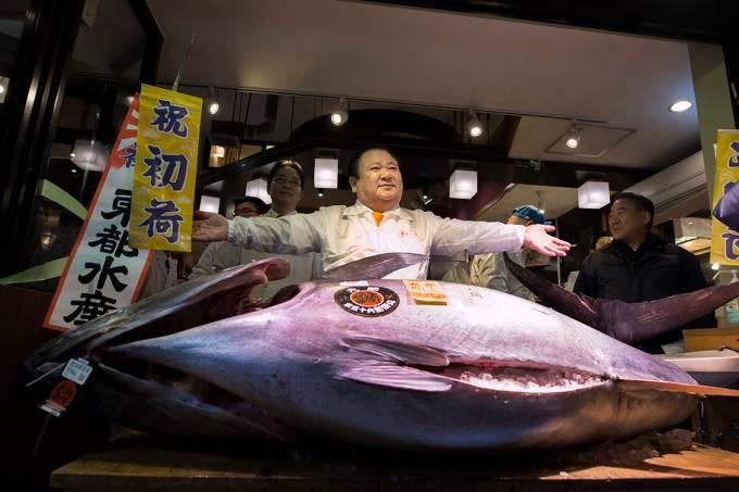 Homem pesca atum de mais de 600 mil dólares