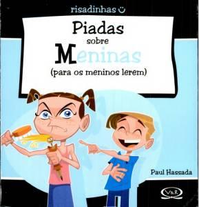 Capa do livro 'Piadas Sobre Meninas - Para os Meninos Lerem'