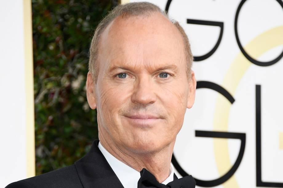 O ator Michael Keaton chega para o Globo de Ouro 2017, em Los Angeles