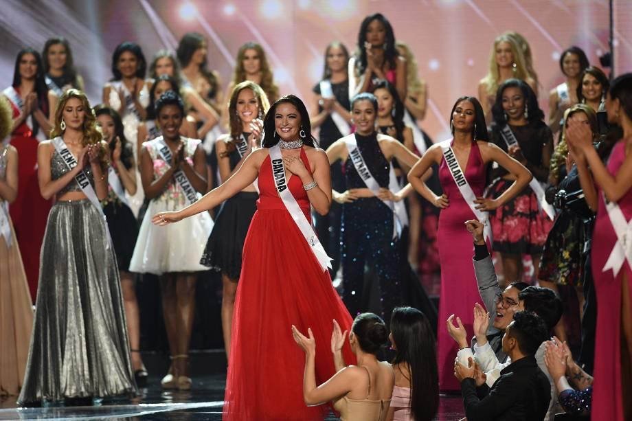 A canadense Siera Bearchell disputa o Miss Universo, nas Filipinas - 30/01/2017