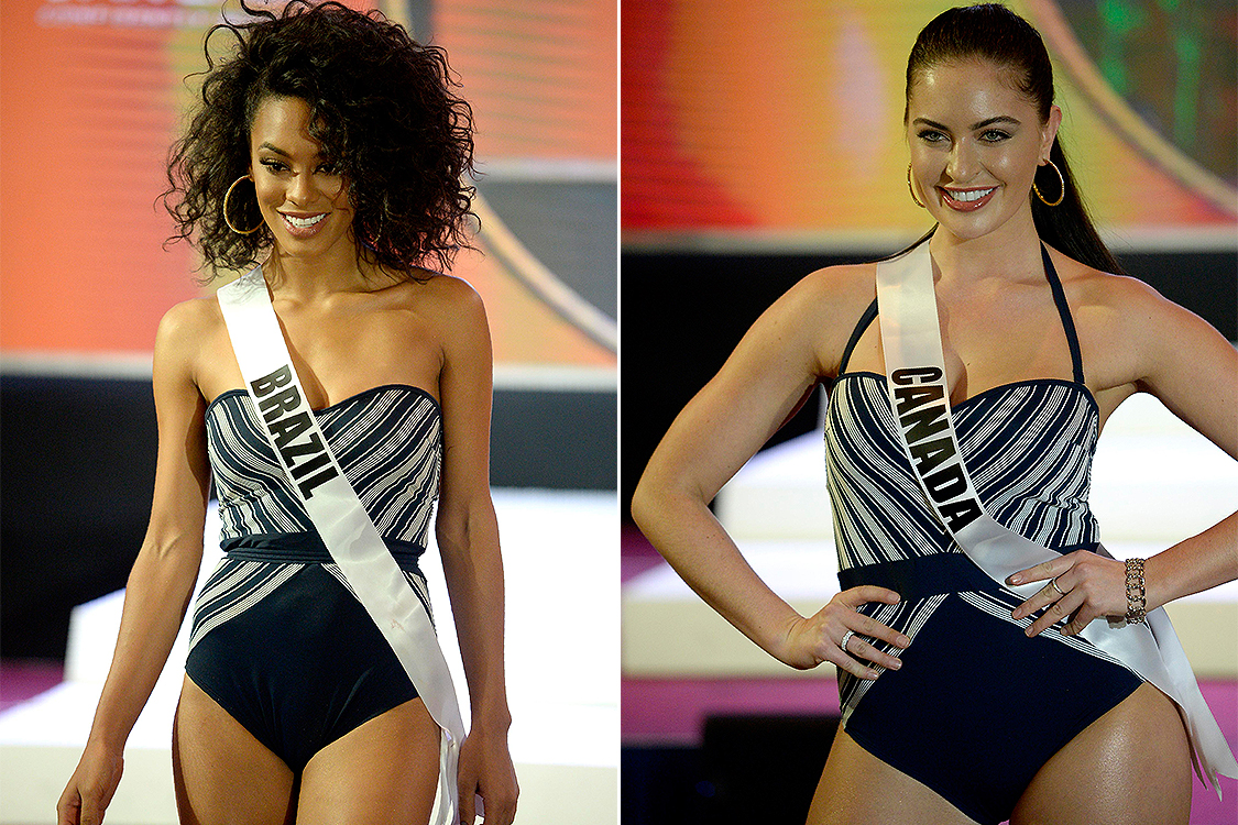 Raissa Santana e Siera Bearchell disputam o Miss Universo, nas Filipinas - 26/01/2017