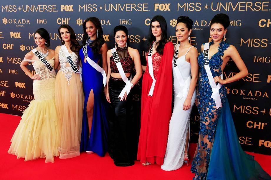 Candidatas de 86 países disputam o Miss Universo, nas Filipinas - 29/01/2017