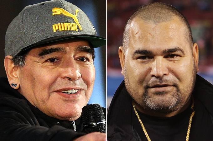 Maradona e Chilavert