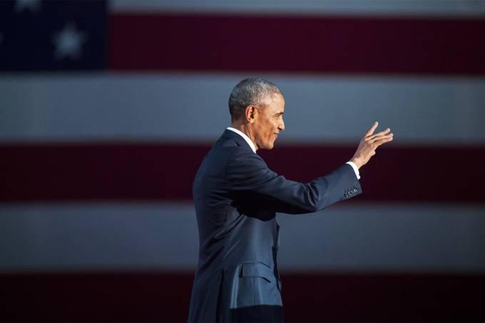 Barack Obama realiza último discurso como presidente