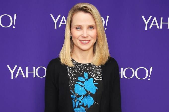 A CEO do Yahoo, Marissa Mayer