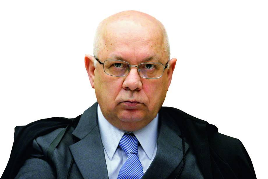 Ministro Teori Zavascki no julgamento de recursos na AP 470 - 22 / 08 / 2013