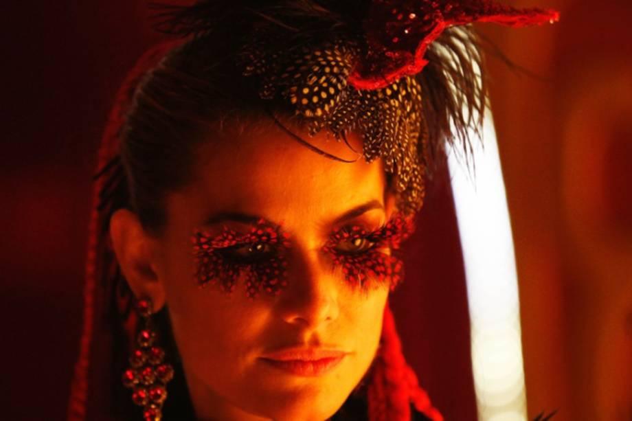 """Alinne Morais em cena do filme """"Saltimbancos Trapalhões Rumo a Hollywood"""""""