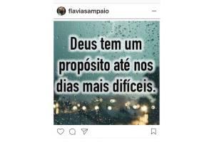 Instagram de Flávia Sampaio, mulher de Eike Batista.