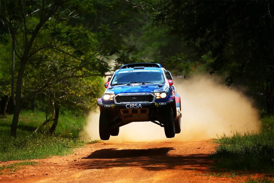 Primeiro dia do Rali Dakar 2017, entre Assunção, no Paraguai e Resistência, na Argentina - 02/01/2017