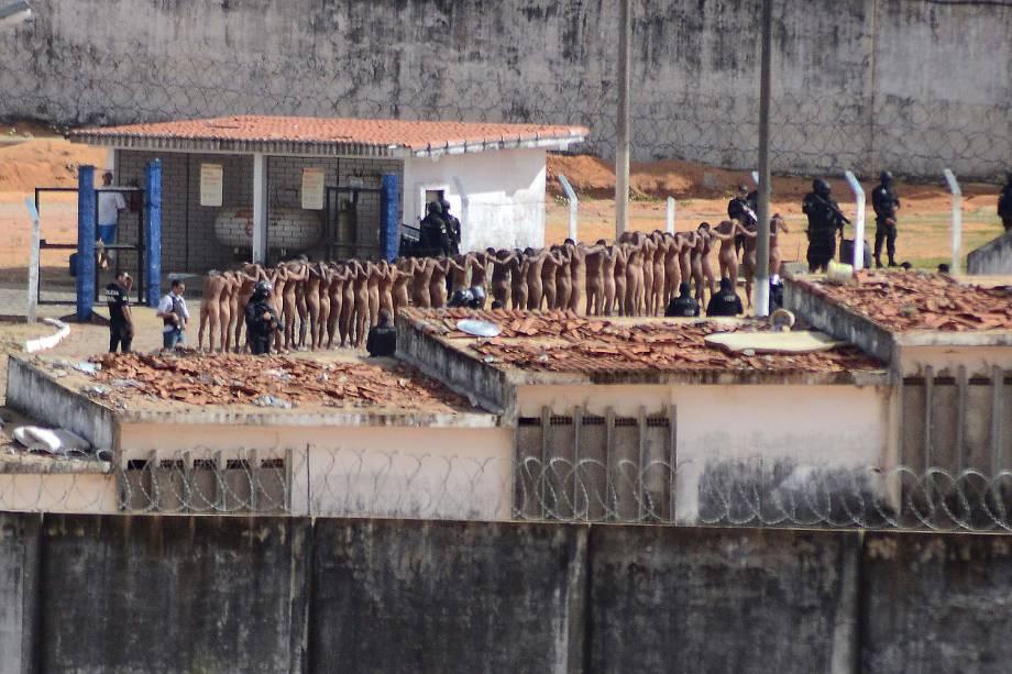 Rebelião Penitenciária Estadual de Alcaçuz na Grande Natal (RN)
