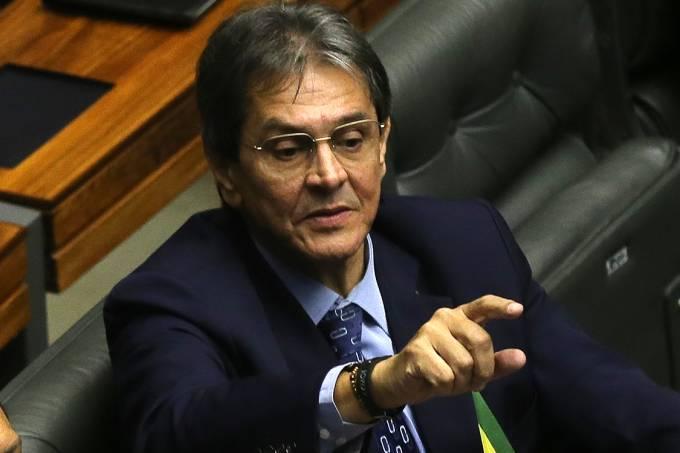 Ex-deputado Roberto Jefferon em sessão na Câmara dos Deputados