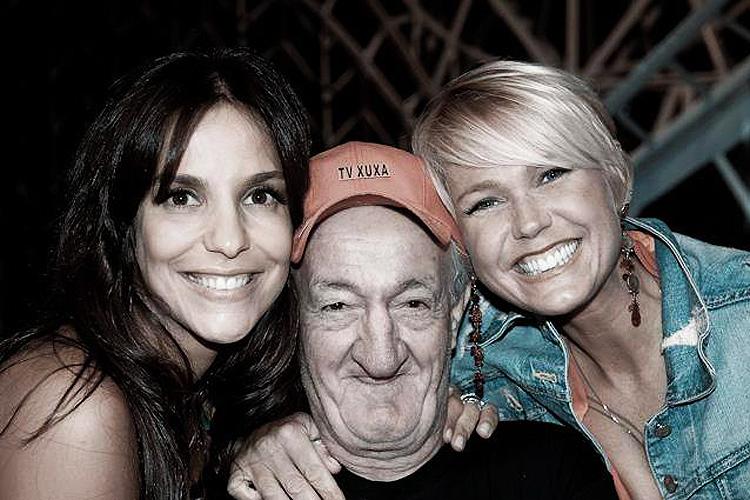 Russo com Ivete Sangalo e Xuxa na TV Record