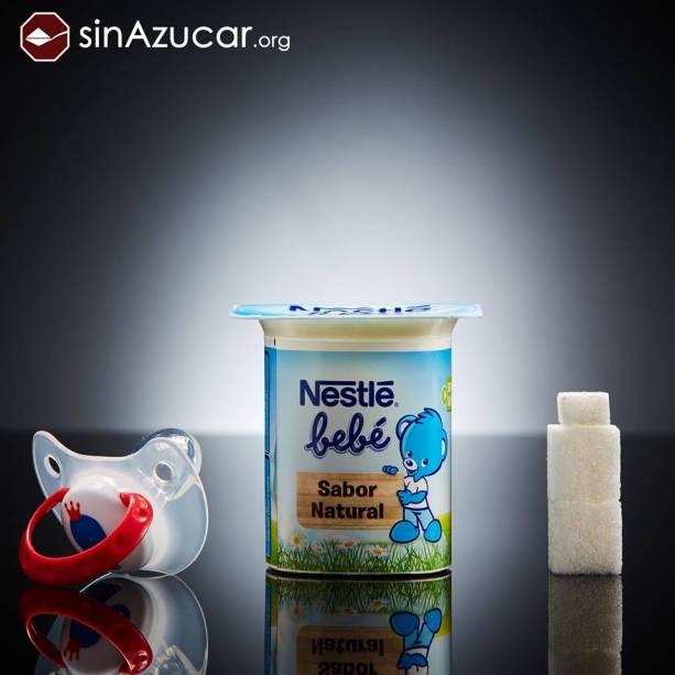 Iogurte Nestlé para bebês tem 9 g de açúcar