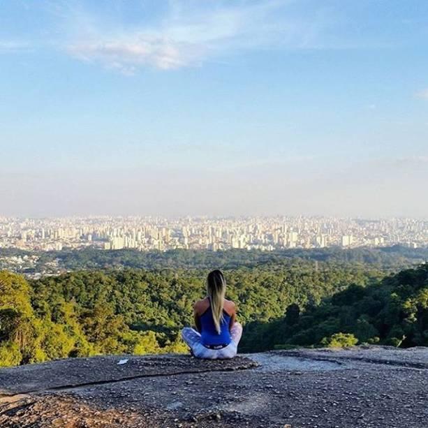 Vista da Serra da Cantareira