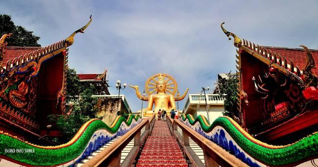 Big Buddha Temple em Koh Samui