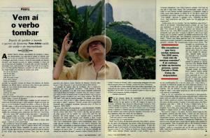 """""""Vem aí o verbo tombar"""": clique aqui para ler a reportagem de 7 de dezembro de 1994"""