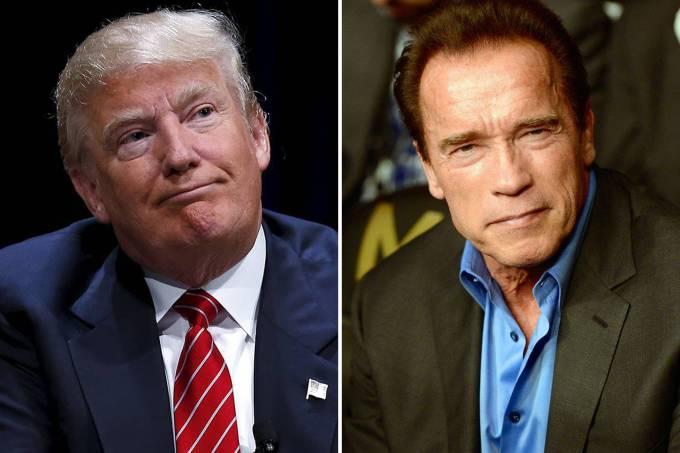 Donald Trump e Arnold Schwarzenegger