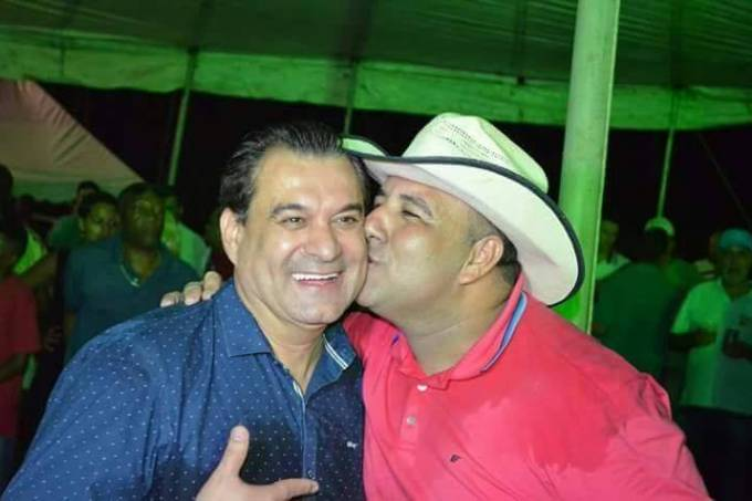 Deputado Wilson Beserra e o candidato a vereador Wattyla Cebolinha