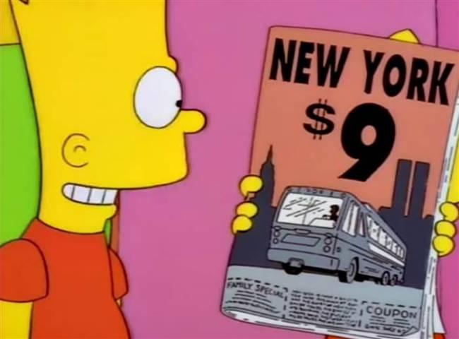"""No título da revista, podemos ler """"Nova York, 11 do 9"""" (Foto: Reprodução/ Fox)"""
