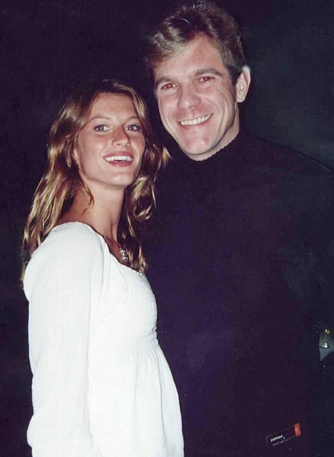 Gisele Bündchen e o empresário Dilson Stein