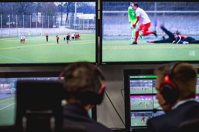 Teste de árbitros de  vídeo na Alemanha – 21/02/2017