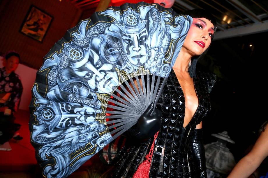 Sabrina Sato, no baile de Carnaval do Copacabana Palace, no Rio de Janeiro