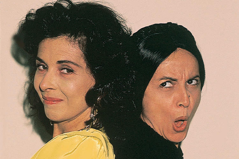 Betty Faria e Joana Fomm na novela