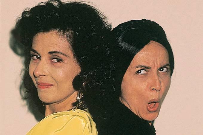 "Betty Faria e Joana Fomm na novela ""Tieta"", da Rede Globo."
