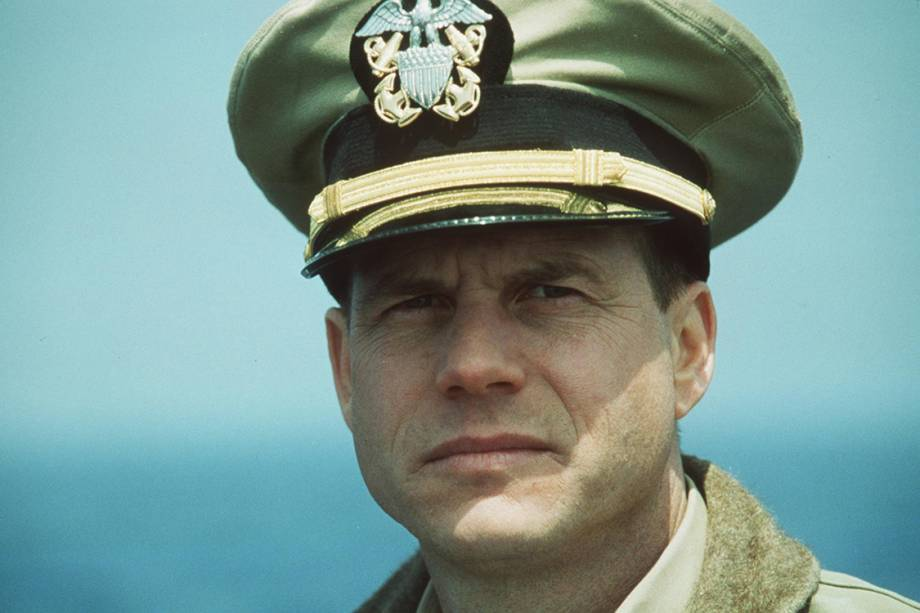 "Bill Paxton no filme ""U-571"""