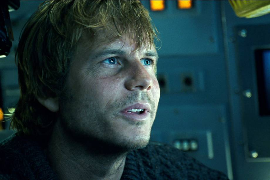 "Ator Bill Paxton no filme ""Titanic"""