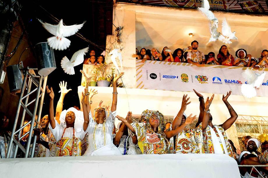 Bloco do Ile Aiye em Salvador na Bahia - 25/02/2017
