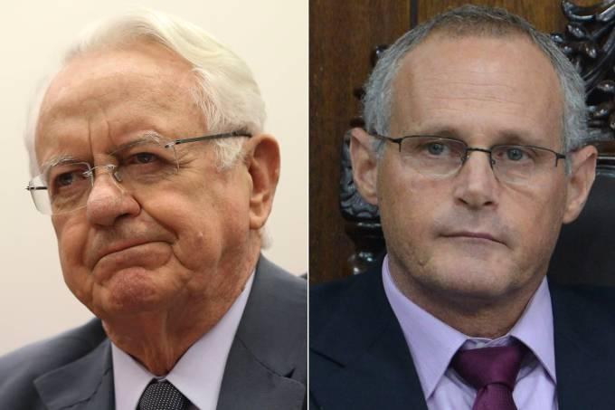Carlos Velloso e José Mariano Beltrame