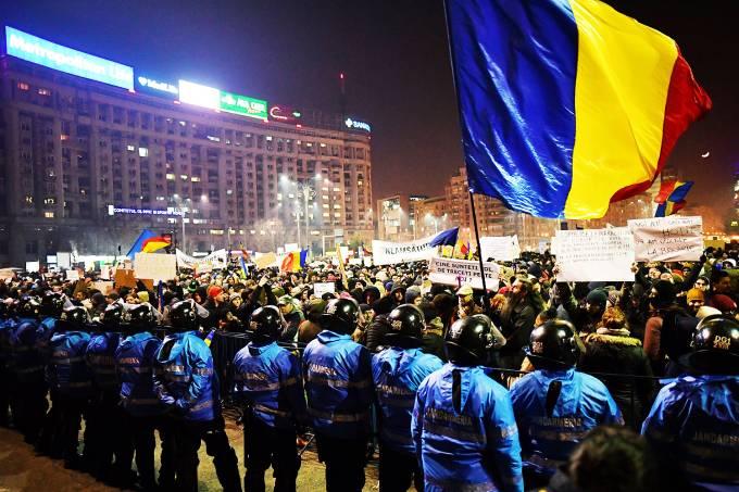 Bucareste, capital da Romênia – 01/02/2017