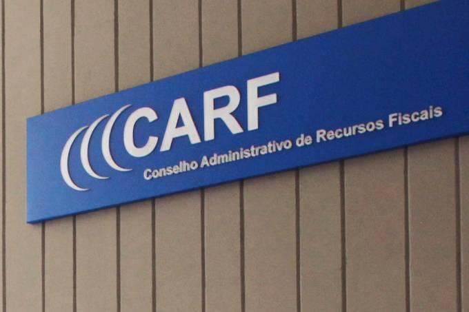 Fachada externa do Conselho Administrativo de Recursos Fiscais (CARF)