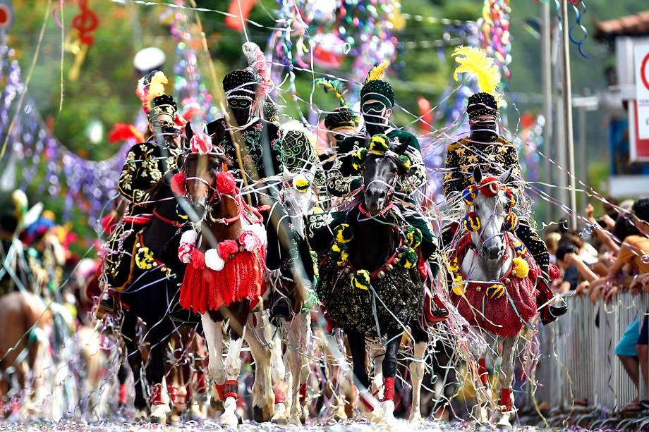 Carnaval a Cavalo em Bonfim, Minas Gerais - 27/02/2017