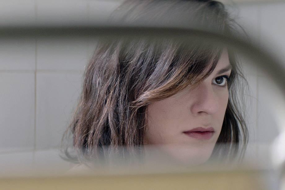 "A atriz Daniela Vega de ""Una Mujer Fantastica"" no Festival de Berlim"