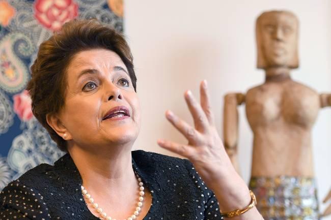 A ex-presidente Dilma Rousseff (PT)