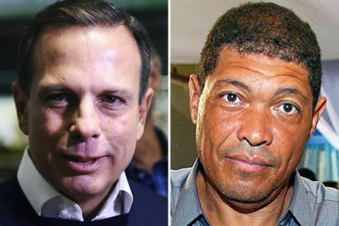 O prefeito de São Paulo João Doria (PSDB) e o pastor Valdemiro Santiago