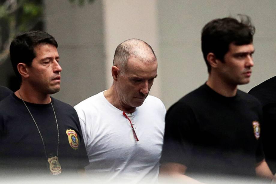 Eike Batista deixa à sede da Polícia Federal no Rio para prestar depoimento - 31/01/2017