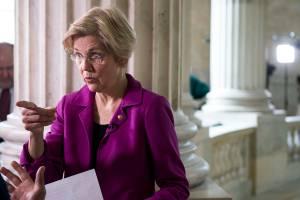 A senadora democrata Elizabeth Warren