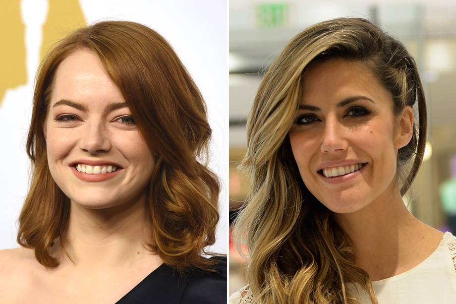 A atriz americana Emma Stone e a blogueira Martha Graeffusam o A atriz Emma Stone e a blogueira Martha Graeff usam oóleo de coco para remover a maquiagem.
