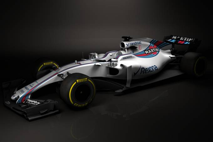 Novo carro da Williams para a temporada 2017
