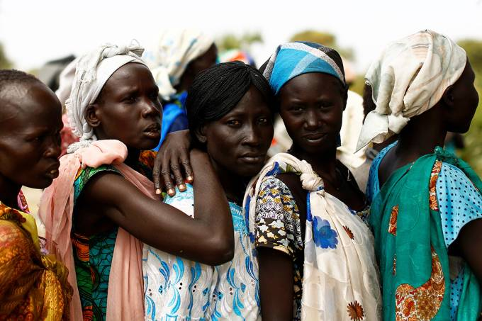 Fome no Sudão do Sul