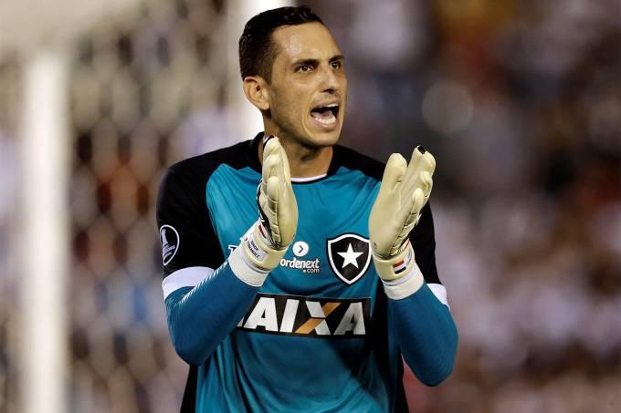 O goleiro do Botafogo Gatito Fernandez