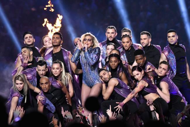 Lady Gaga no Super Bowl 2017